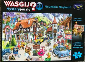 WASGIJ Mystery Puzzle 20 Mountain Mayhem