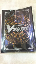 Cardfight Vanguard Bushiroad Official Black Gold Logo Sleeves 53 pcs