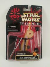 Star Wars Sith Accessories Set Ep. I New on Card NoC 1988