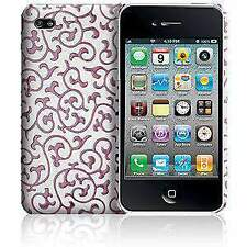 CASE MATE IVY CASE COVER FOR APPLE IPHONE 4 - WHITE PINK