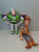 Thinkway Disney Toy Story Interactive Buzz Lightyear And Woody Talking Figures