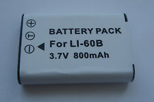 Batterie Li-60B DBL70 EN-EL11 D-Li78 pour Pentax Optio M60 W60 W80 V20 M50