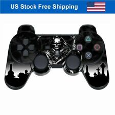 Leather Skin for Playstation 3 Controller PS3 Wireless Game Remote Sticker Black