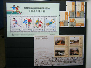 MACAU 1994 SHEETS + ATM LABELS MNH** LUXE!!! HIGH VALUE!!!