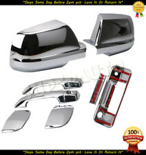 FOR 2007-2013 TOYOTA TUNDRA CHROME MIRROR + HANDLES + TAILGATE DOUBLE CAB