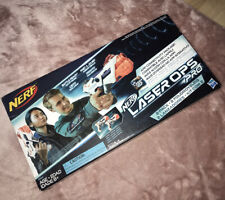 Official Nerf Laser Ops Pro Alphapoint 2 Pack Combat Blaster & Armbands Toy Gun
