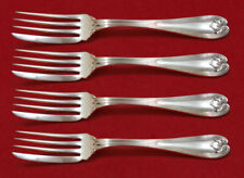 """Colonial by Tiffany and Co Sterling Silver Fish Fork Set 4pc AS Custom 6 3/4"""""""