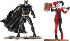 Figurine Batman Vs Harley Quinn - Schleich 22514 - Justice League Bande dessinée