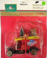 Christmas Holiday Ornament - Kurt Adler - Vintage Gift Shop Car (H4905)