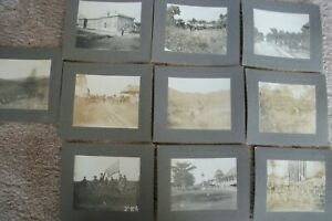 Cabinet Photograph Collection of U.S. Soldiers in Philippine Insurrection 1898