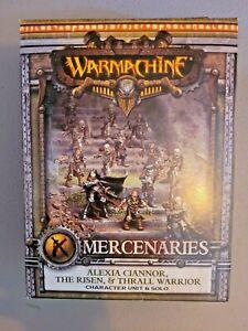 Warmachine - Mercenaries: Alexia Ciannor, The Risen, and Thrall Warrior Unit