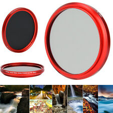 FOTGA 58mm ND2-400 Silm ND Filter Variable Neutral Density ND2 to ND400 for Cam