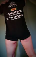 Vietnam Veteran Vengeance t-shirt! $1 Donated for Every Sold