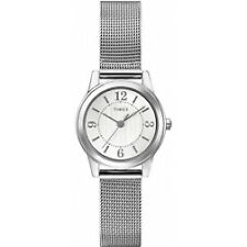 Timex Classic Women's Dress Stainless Steel Ladies Watch T2P457