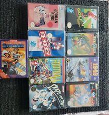 Nes Nintendo Game Lot Complete in Box CIB