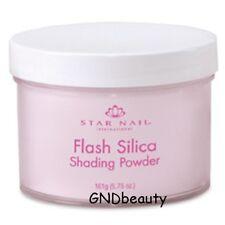 Star Nail Professional Acrylic  Flash Silica Shading Powders 1.6 oz. ., 5.75 oz.
