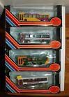 JOB LOT OF 4 EFE PLAXTON POINTER DENNIS DART BUSES 4MM 1:76 SCALE