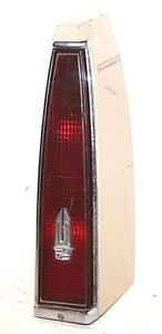 Cadillac 1985 1986 DEVILLE FLEETWOOD (FWD) TAIL LAMP ASSY. 16500787 D5-341 RH
