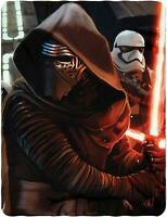 Kylo Ren Storm Trooper Star Wars Fleece Blanket Throw NEW Ready Imperial