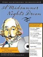 A Midsummer Night's Dream Sourcebooks  Shakespeare; Book & CD Compact Disc