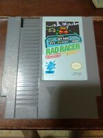 Rad Racer w/ Instruction Manual and case (NES) Nintendo Game untested