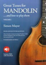SIMON MAYOR GREAT TUNES FOR MANDOLIN Vol 1 +online