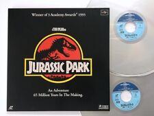 Jurassic Park  Laser Disc Japan K64L-5043~4 LD