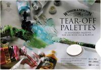 Winsor & Newton 50 Sheet Disposable Paper Tear-Off Paint Palettes 290 x 200 mm