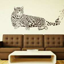 Big Cat Wall Stickers! Transfer Graphic Decal Decor Stencil Large Wild Cats Art