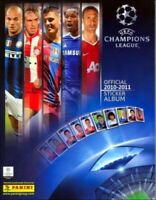 MANCHESTER UNITED -STICKERS IMAGE PANINI -CHAMPIONS LEAGUE 2010 2011 - a choisir