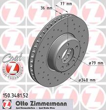 Bremsscheibe (2 Stück) SPORT-BREMSSCHEIBE COAT Z - Zimmermann 150.3481.52