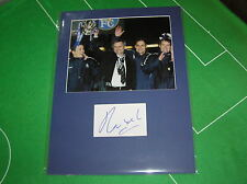 Jose Mourinho Signed Chelsea First Trophy 2005 League Cup Winners Mount