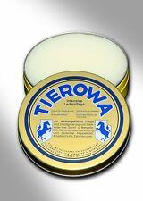 (6,75€/100ml) TIEROWA Lederfett 100 ml farblos - Reiten - Lederpflege - Jagd