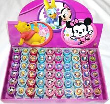 60 pc Disney Licensed Cutie Self Inking Stamper Pencil Topper School Supply Gift