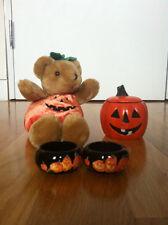 Halloween Doll, Candle Holder & Tea Lights