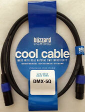 """Blizzard Lighting DMX-5Q """"Cool Cable"""" 5' DMX 22 gauge Cable with 3-pin XLR ends"""