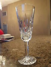 "Waterford Lismore Champagne Flute 4-5 oz, 8"" Tall Exc Cond, up to 6 Avail."
