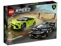 LEGO® Speed Champions 76899 Lamborghini Urus ST-X & Huracán, NEU & OVP