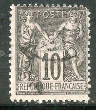 STAMP / TIMBRE DE FRANCE TYPE SAGE N° 103 / ETAT / Clair aminci