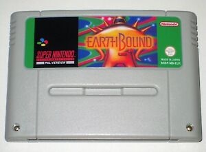 *PAL Version* EARTHBOUND English Game For Super Nintendo SNES Mother 2