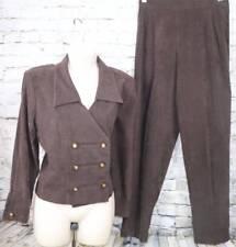Women S Velvet Pant Suits Blazers Ebay