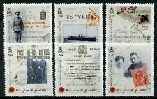 Guernsey 2015 MNH WWI WW1 Stories of Great War Part 2 6v Set Military Stamps