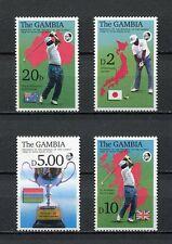27834) Gambia 1992 MNH Neuf Golf 4v
