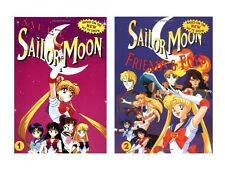 Set of 2 Sailor Moon Hardcover Children's Books
