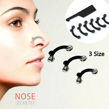 3 Sizes in 1 Secret Nose Up Lifting Shaping Clip Nose Reshaper Tool Kit Sets UK