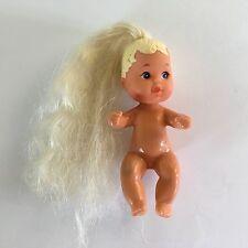 Mattel 1973/85 Vintage Barbie Baby Krissy Doll Long Blonde Hair Ponytail
