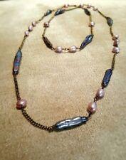 HANDMADE! Genuine Pearl Necklace 30020