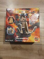 Airfix Dalek Model Kit Dr Who Daleks in Manhattan 14cm Light Sound 100 Complete