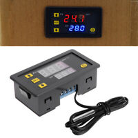 Incubator Digital Temperature Controller Thermostat Control With Switch + Probe