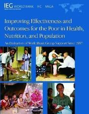 Improving Effectiveness and Outcomes for the Poor in Health, Nutrition, and Popu